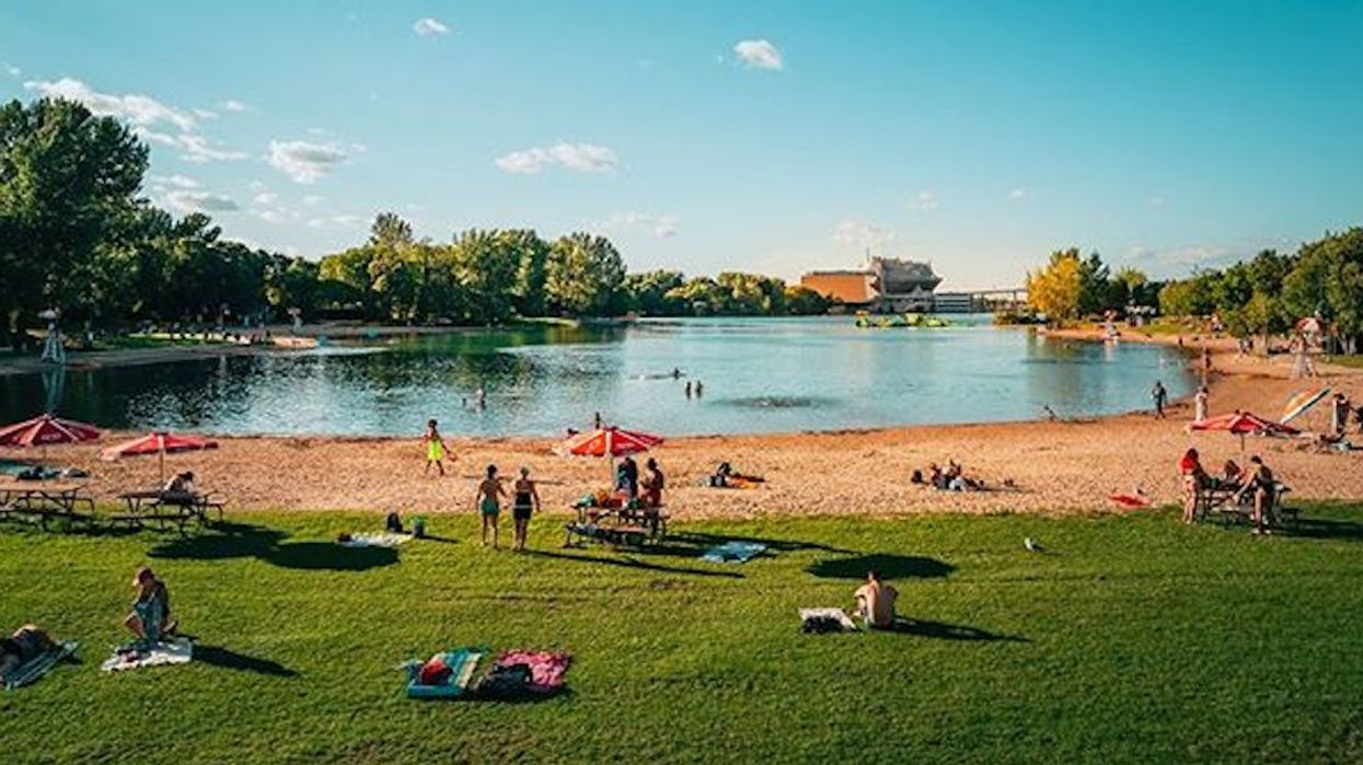 The Beach At Montreal's Parc Jean-Drapeau Is Officially Reopening On July 11
