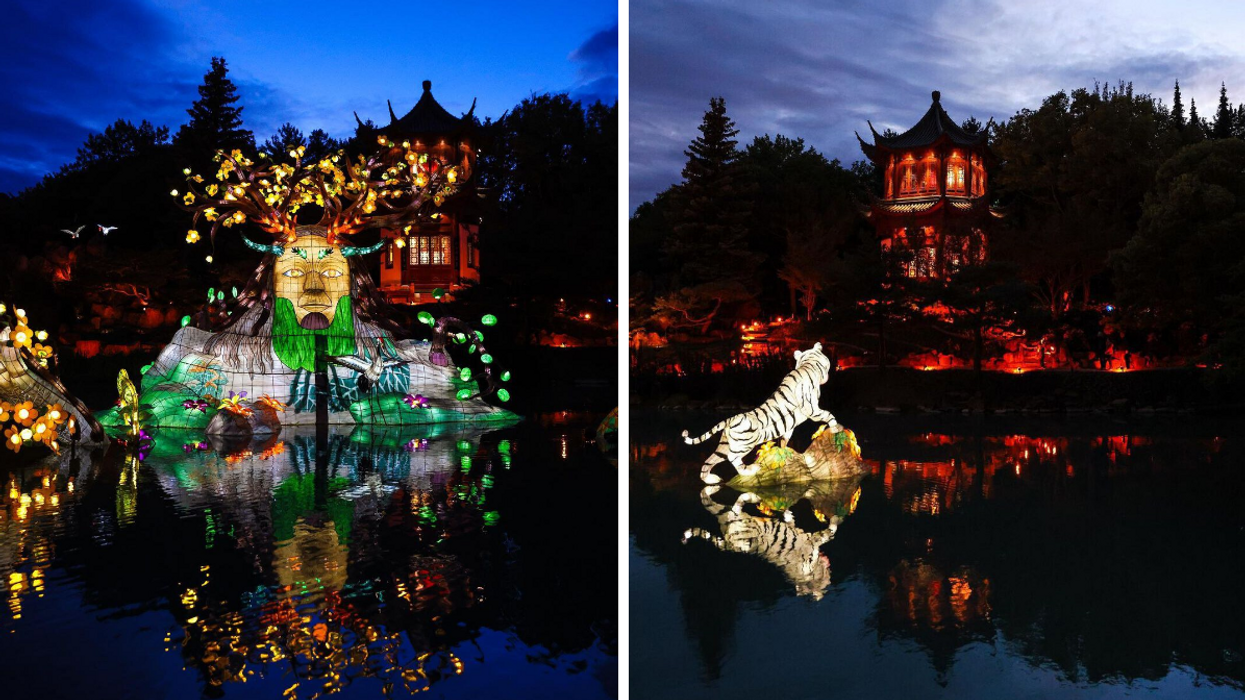 The Montreal Botanical Garden's Lantern Festival Just Opened & It's Dazzling (FIRST LOOK)