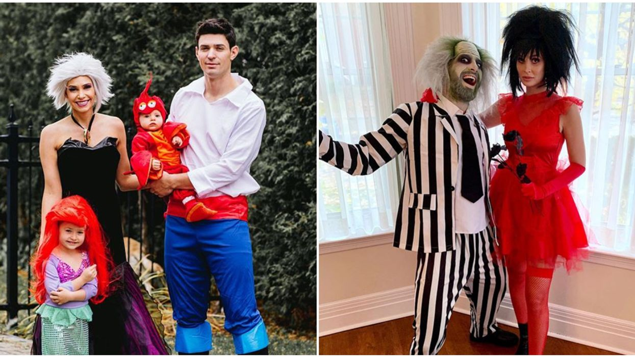 The Montreal Canadiens' Halloween Costumes Somehow Even Make Beetlejuice Look Hot (Photos)