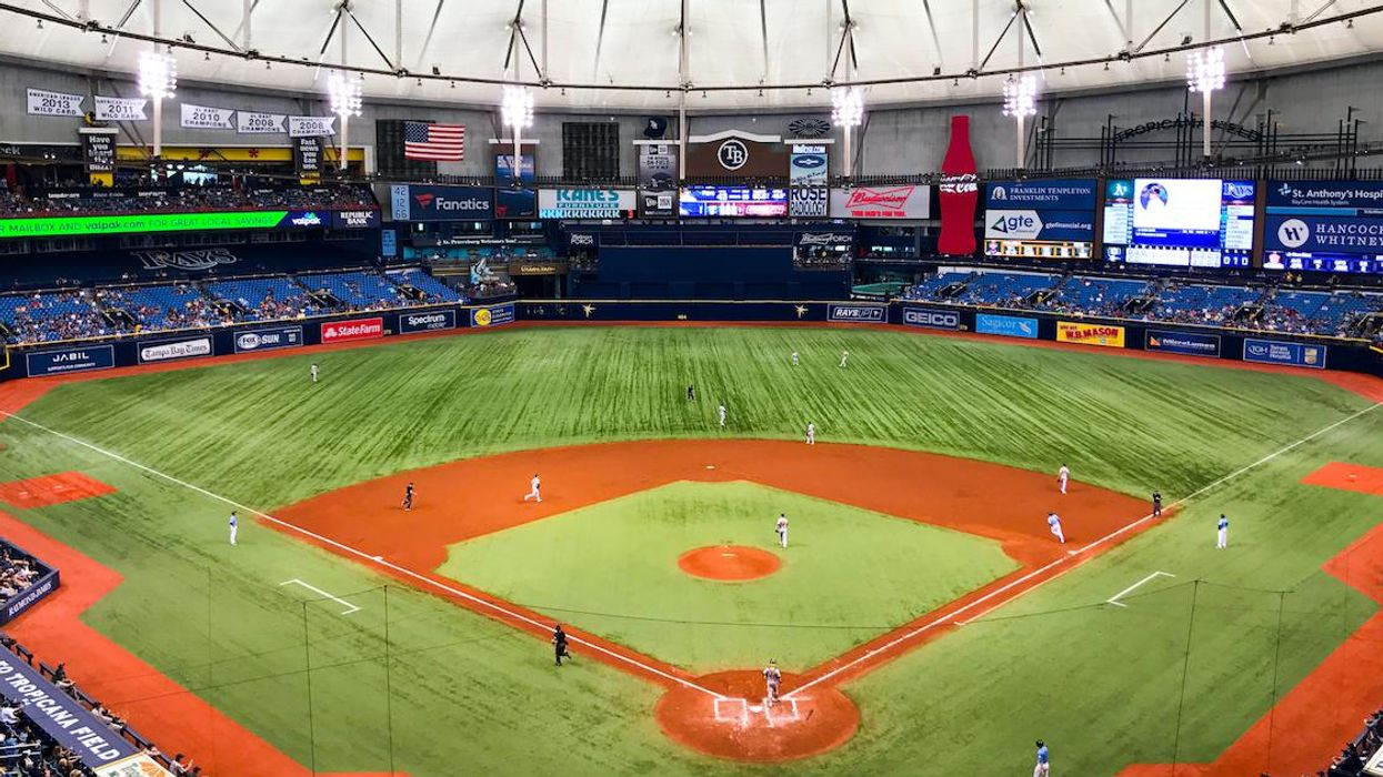 The Tampa Bay Rays Are Unveiling A Graphic That Includes Montreal In Their Stadium
