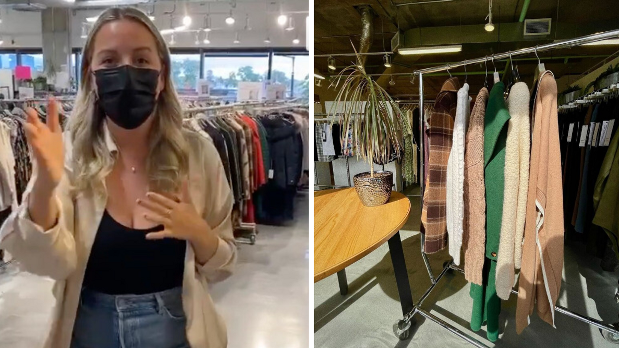 There's A Huge Sale At A Montreal Warehouse RN With High-End Brands At Wholesale Prices