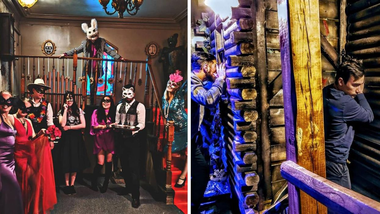 This Creepy Escape Room Game In Montreal Is 16+ And We Totally Get Why