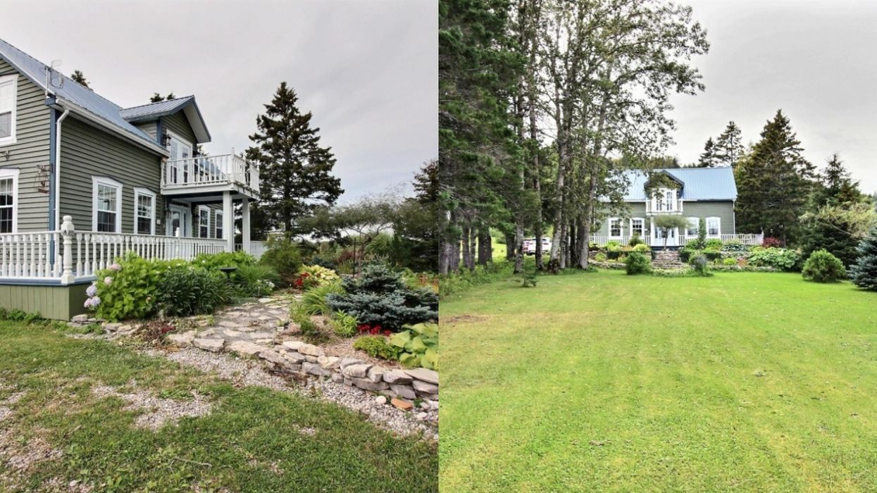 This Home For Sale In Quebec's Gaspésie Region Is $295,000