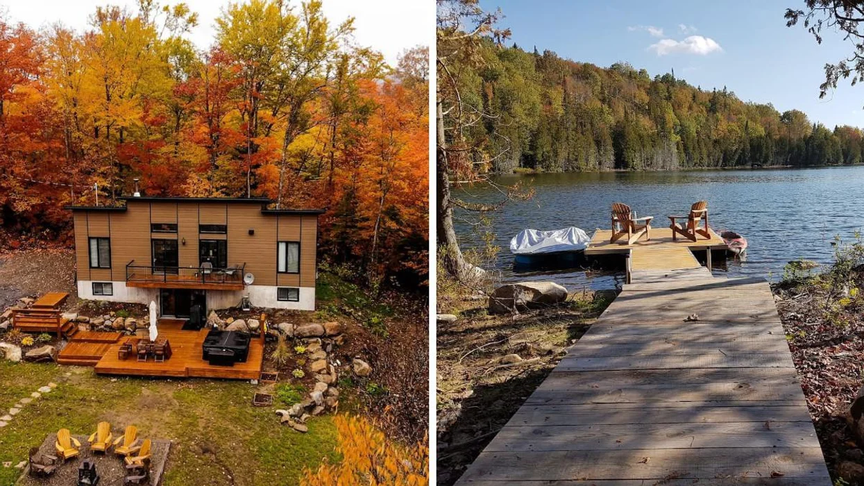 This Huge Lakeside Airbnb In Quebec Is $56/Night Each If You Split It With Your Crew