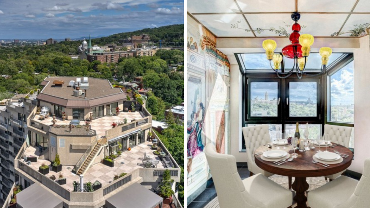 This Montreal Penthouse For Sale Has A Terrasse Bigger Than Your Apartment (PHOTOS)