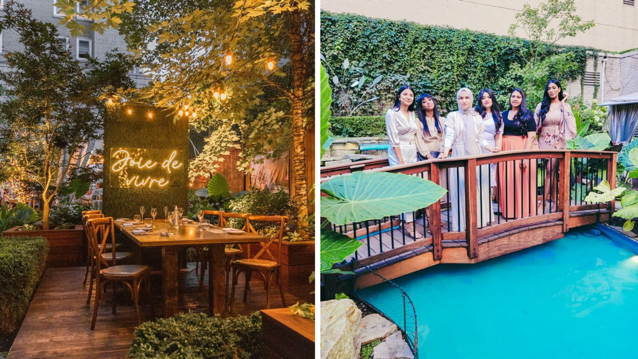 This Montreal Restaurant Was Named Among The Coolest Outdoor Dining Spots In North America