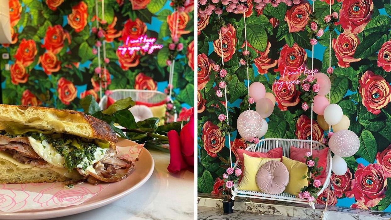This New Montreal Café Feels Like You Walked Into A Field Of Flowers (PHOTOS)