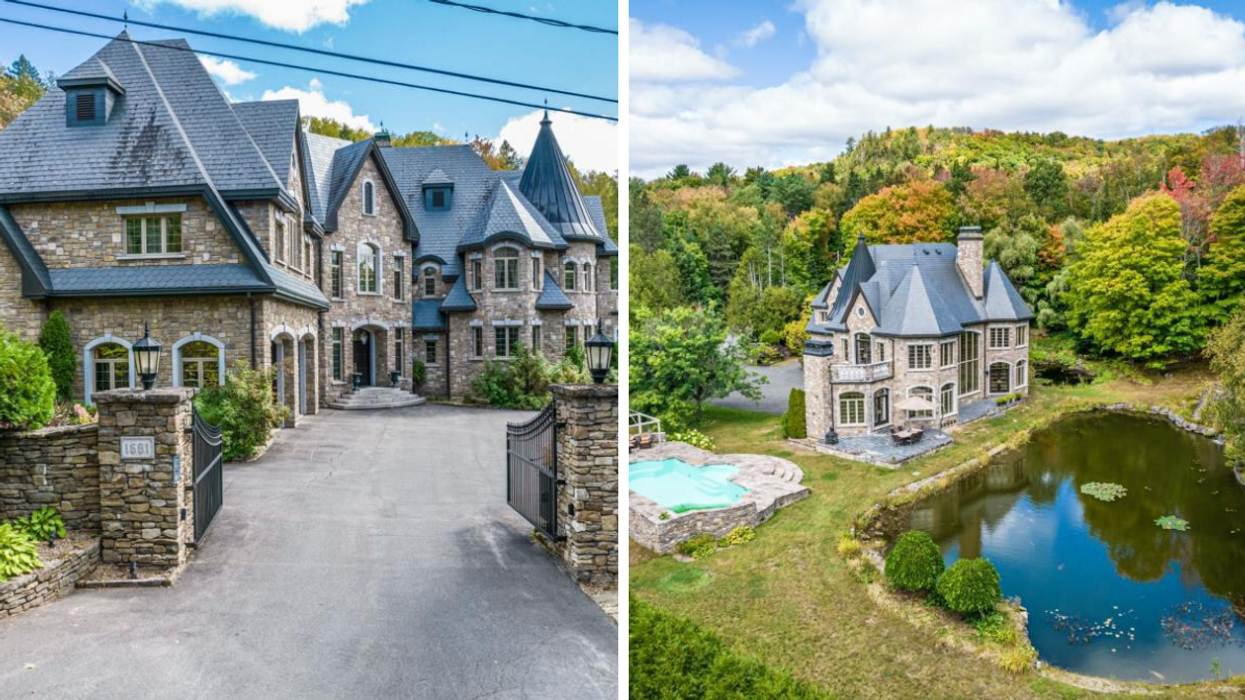 This Quebec Castle Makes Us Want To Say 'F**k It' & Sell Our Soul To The Devil To Buy It