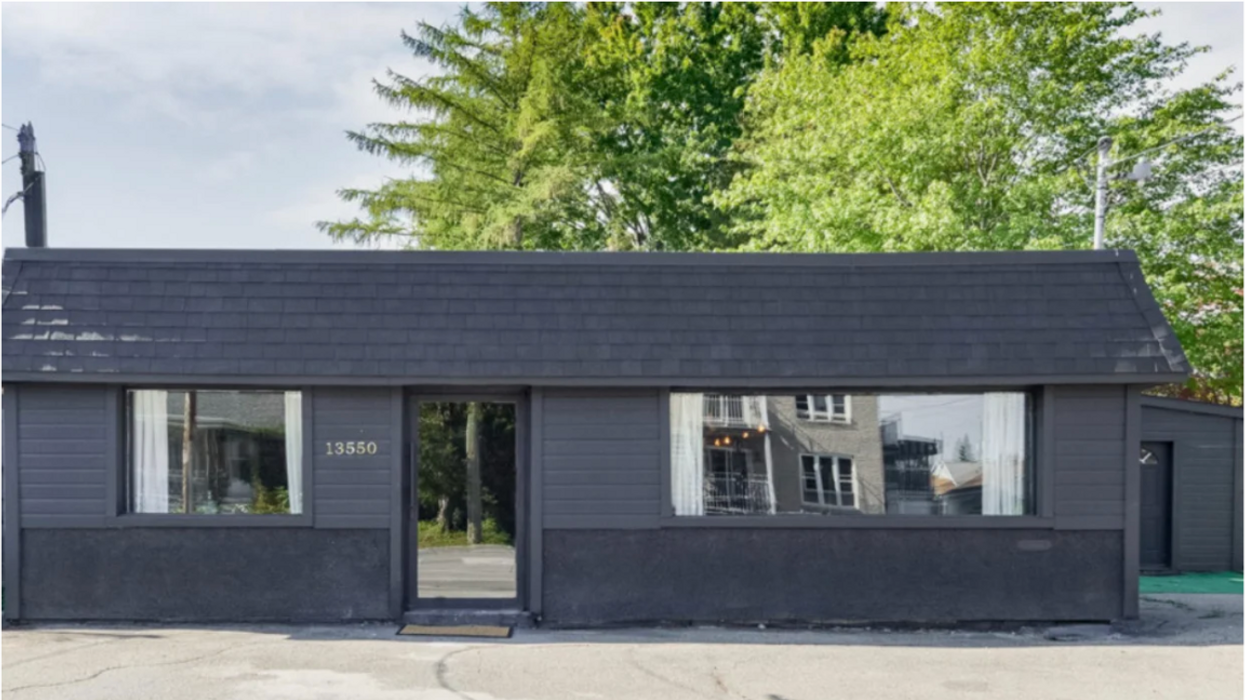This Quebec Home For Sale That Looks Like A Shoebox Hides A Super Lush Interior (PHOTOS)
