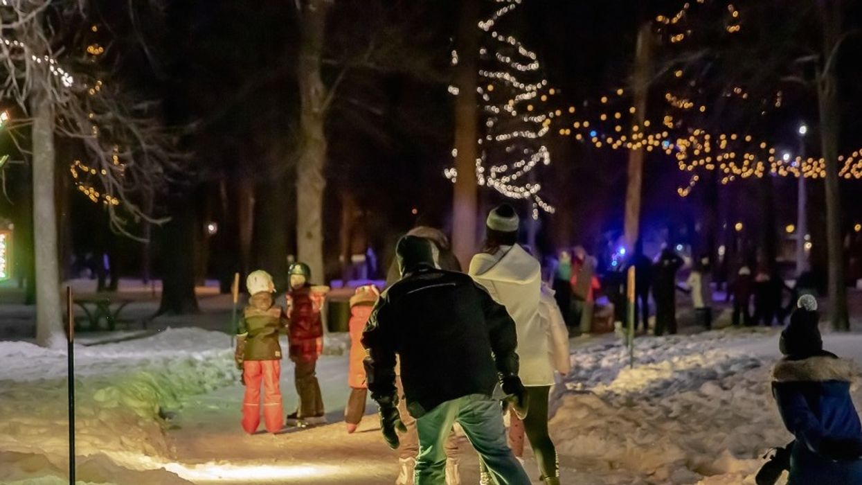 Valentine's Date Ideas Near Montreal Should Include This Illuminated Outdoor Skating Party