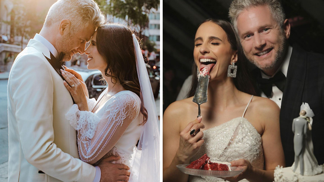 Vanessa Grimaldi's Wedding Was A Montreal Dream