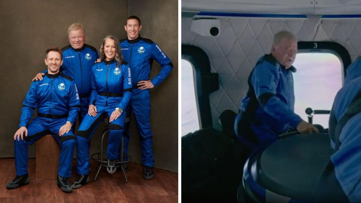 Video Shows Montreal Native William Shatner's Hilarious Amazement When He Reached Space