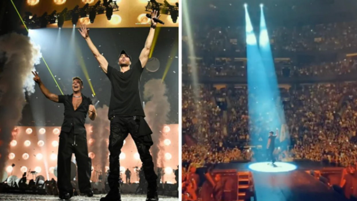 Videos Of Ricky Martin & Enrique Iglesias At The Bell Centre That'll Give You Major FOMO