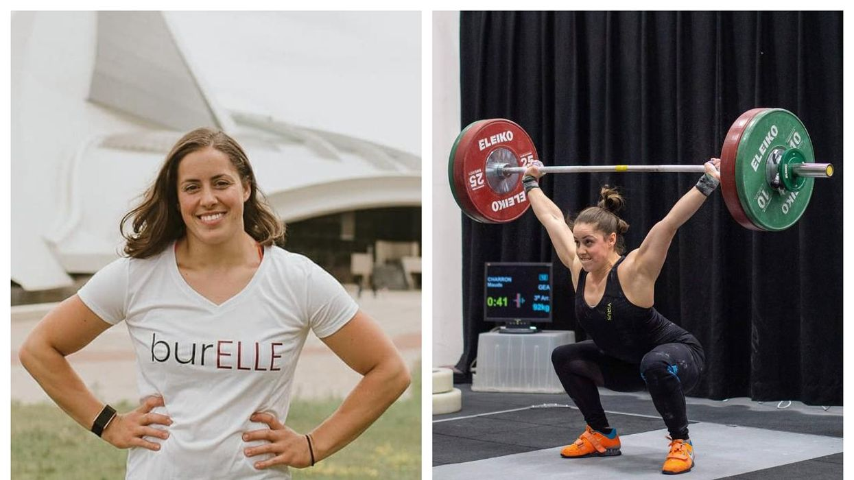 This Weightlifter Is The First Quebec-Born Athlete To Win Gold At The Tokyo Olympics