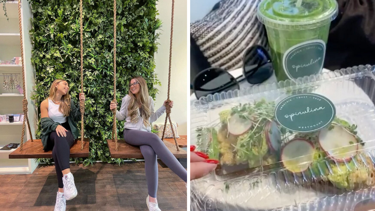Westmount's New Smoothie Bar Will Nourish Your Soul With Healthy Eats & Major Tulum Vibes