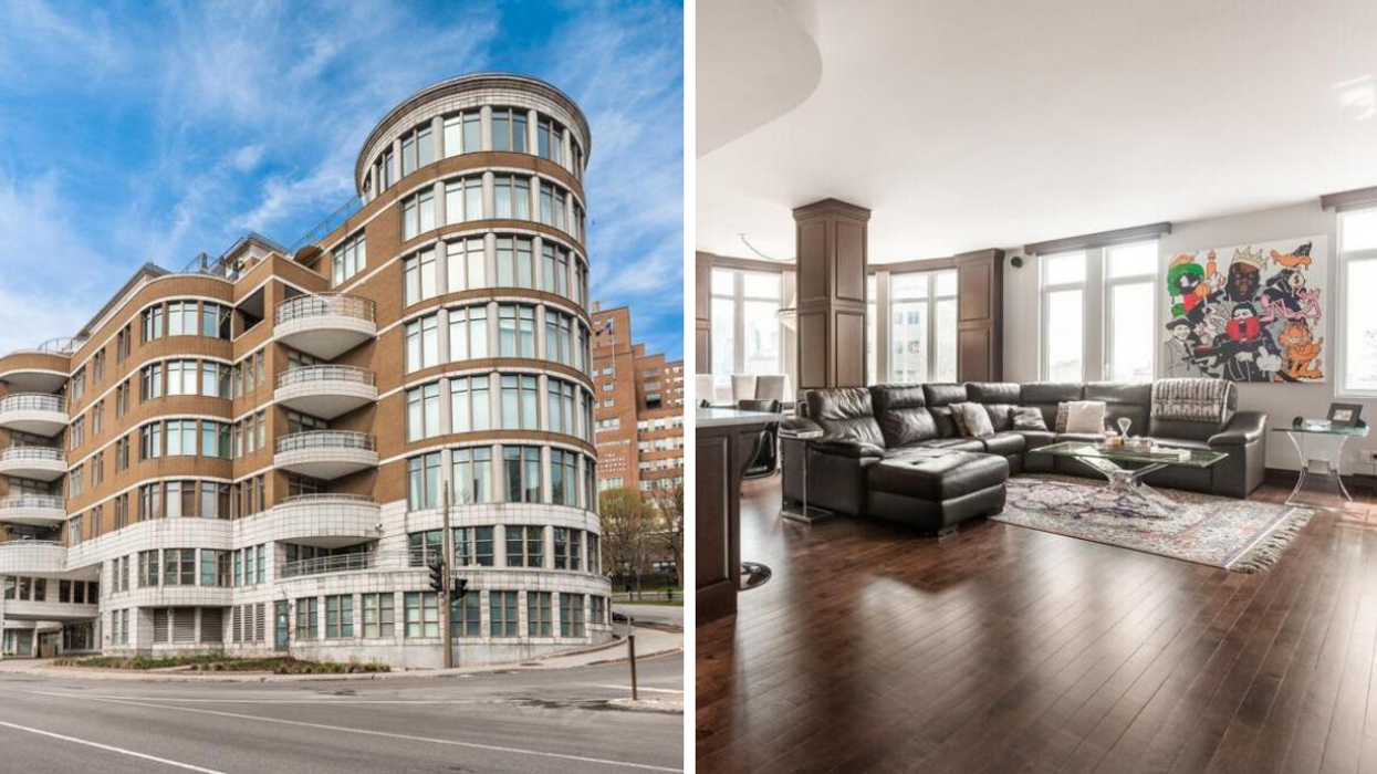 What A $1.5M Golden Square Mile Penthouse In One Of Those Posh Condos Looks Like (PHOTOS)