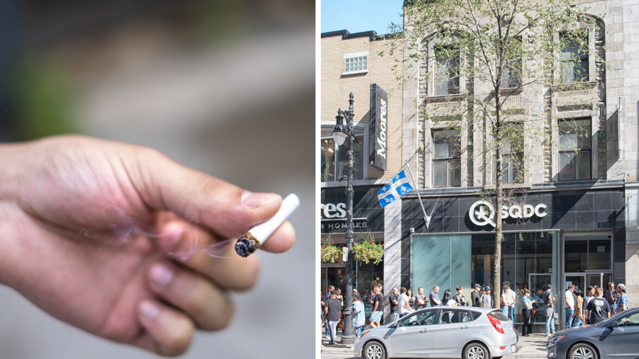Who Smokes More Weed In Montreal — Francophones Or Anglophones? This Survey Has An Answer