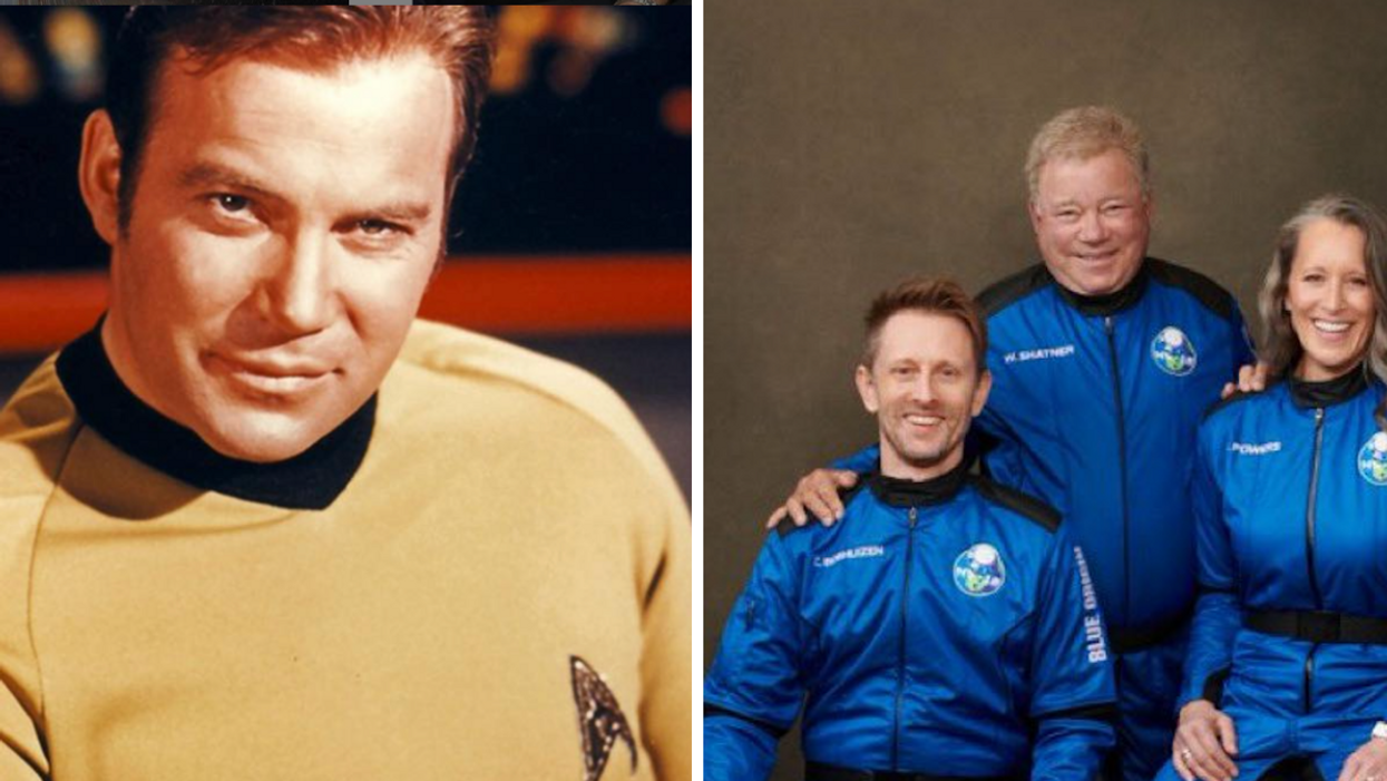 William Shatner Is Going To Space But His Journey Began In A Montreal Neighbourhood