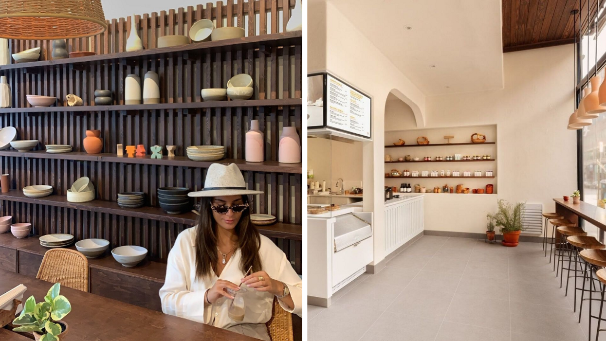 Yaourti Is Montreal's Most Stunning Greek Yogurt Restaurant