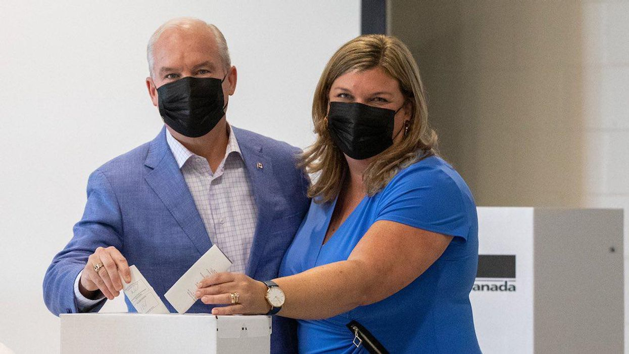 Yes, Canada Party Leaders Can Be Photographed Inside Polling Stations