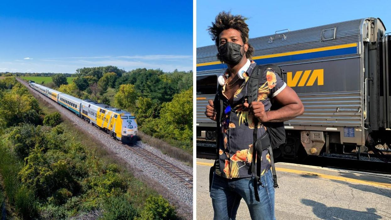 You Can Buy Via Rail Tickets For 25% Off Today